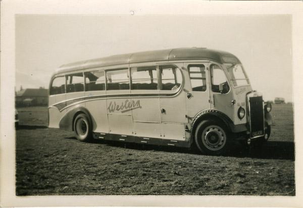 Single decker Leyland