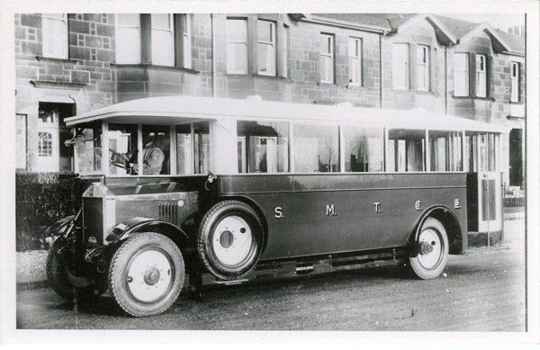 Half cab single decker Albion