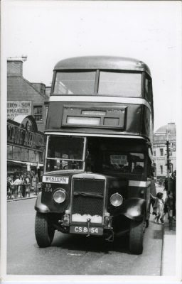 Double decker Leyland Titan