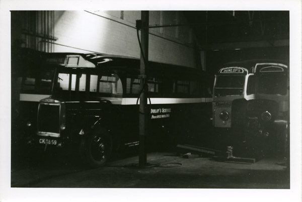 Single decker Leyland  bus