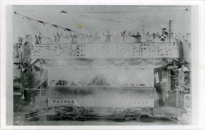 Paisley tramcar Tram
