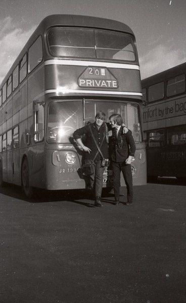 Employees Bus Crew
