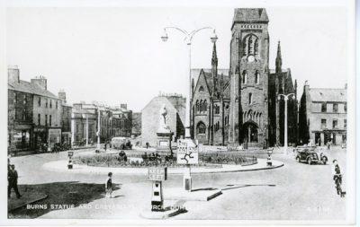 Triumph - Burn's Statue and Greyfriar's Church, Dumfries