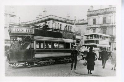 Leyland and tram - Lion