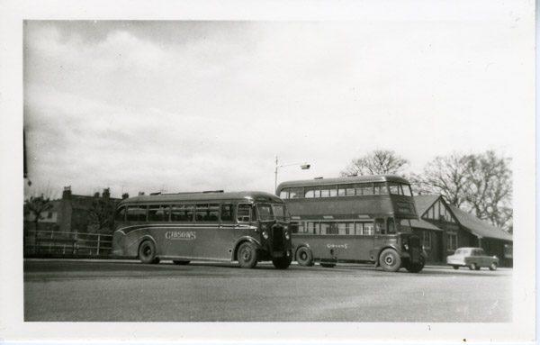 Albion and Daimler - Scottish Aviation body