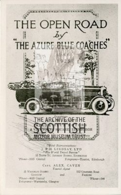 AdvertThe Azure Blue Coaches
