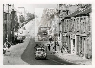 Austin A40 SomersetSuburban street scene