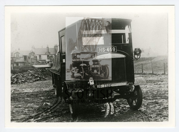 Possibly LothianForward control, a feature of Lothian vehicles