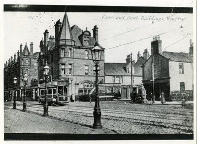 Renfrew Cross and Bank Buildings