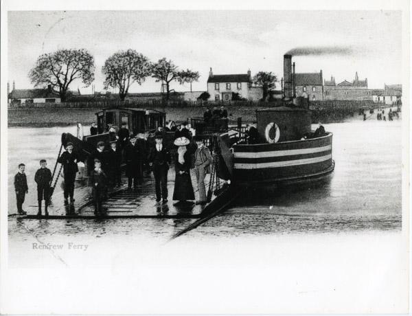 Renfrew Ferry Posed photo