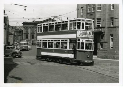 Tram no 27 Glasgow Corporation