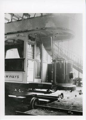 Tram stairway