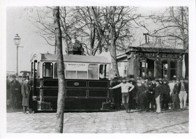 Demonrtation of tram Steam locomotive