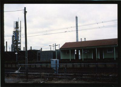 Railway station Goods station