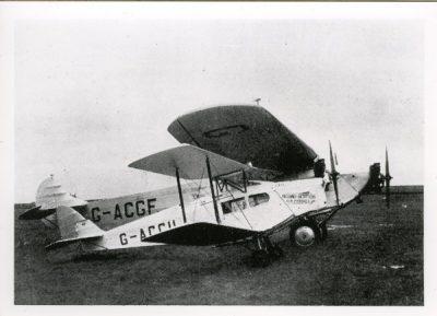 De Havilland Fox Moth, Avro X