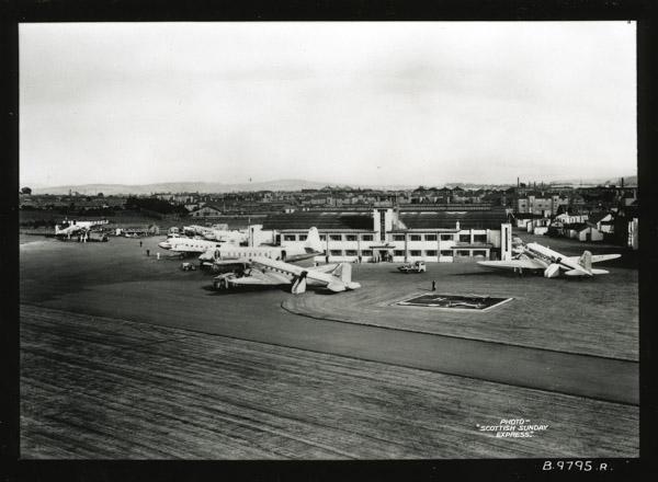 Renfrew Airport Distant view