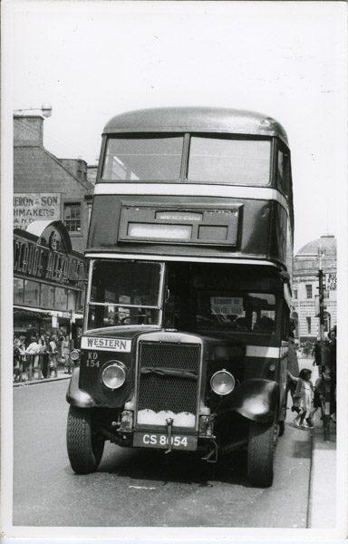 Double decker Leyland Titan
