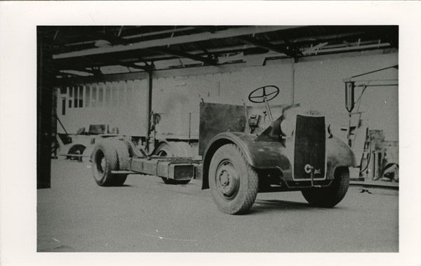 Double decker chassis Gilford chassis
