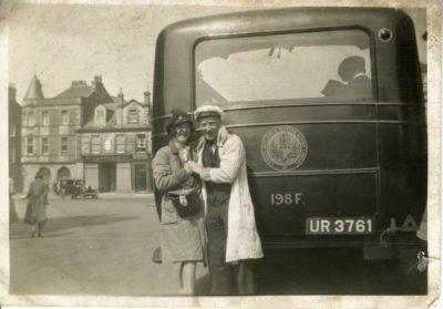 Single decker Unidentified Bus