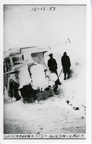 Leyland - Snow scene