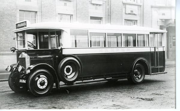 Albion Model 28 Archive Of The Scottish Motor Museum Trust