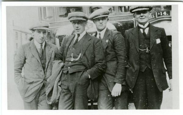 Pedestrians - Four workers
