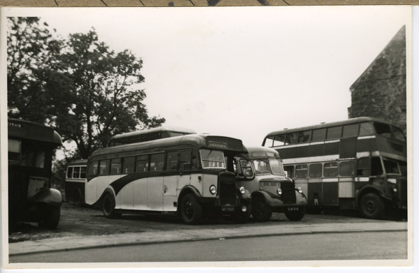 Leyland and Bedford - Bus graveyard