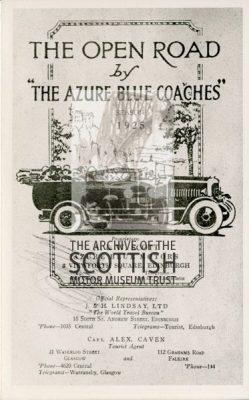 AdvertThe Azure Blue Coaches
