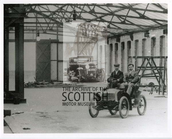 Stirling2 seat voiturette