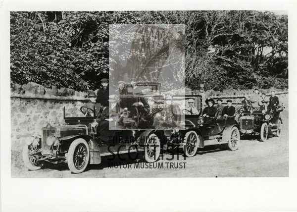 3 Edwardian tourers
