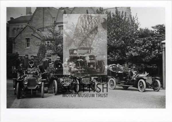 4 Edwardian tourers