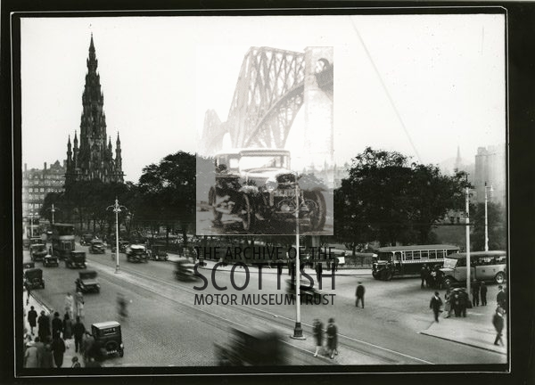 Junction of the Mound and Princes St.