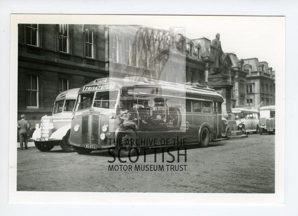 Bedford OB / 1936 Leyland CheetahDuple C29F/ Alexander C36R bodies